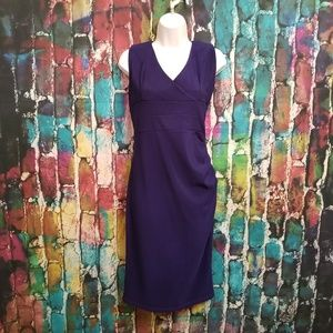 Navy Ruched Side Bodycon Dress